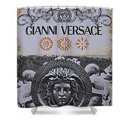 Versace Logo Shower Curtain