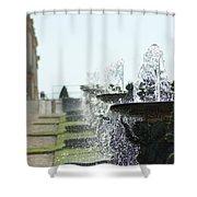 Versailles Fountains Shower Curtain