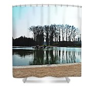 Versailles Park Shower Curtain