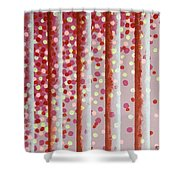 Vertical Bars Shower Curtain
