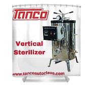 Vertical Sterilizer Shower Curtain