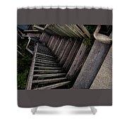 Vertigo - Stairs To The Unknown Shower Curtain