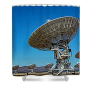 Very Large Array Shower Curtain