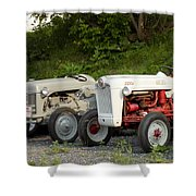 Very Old Ford Tractors Shower Curtain