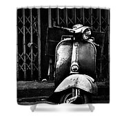 Vespa Shower Curtain