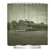 Vesper Hills Golf Club Tully New York Antique 01 Shower Curtain