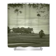 Vesper Hills Golf Club Tully New York Antique 02 Shower Curtain