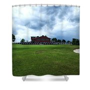 Vesper Hills Golf Club Tully New York Before The Storm Shower Curtain