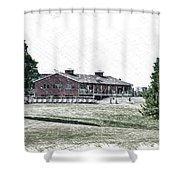 Vesper Hills Golf Club Tully New York Pa 01 Shower Curtain