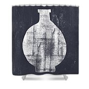 Vessel 1- Art By Linda Woods Shower Curtain