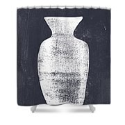 Vessel 2- Art By Linda Woods Shower Curtain