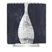 Vessel 3- Art By Linda Woods Shower Curtain