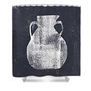 Vessel 5- Art By Linda Woods Shower Curtain