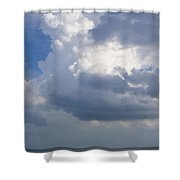 Vessels In The Sky Shower Curtain