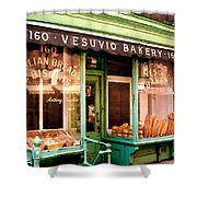 Vesuvio Bakery Shower Curtain