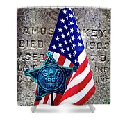 Veteran - 298 Shower Curtain