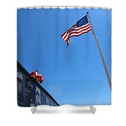 Veteran Tribute Shower Curtain