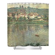 Vetheuil Shower Curtain