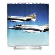 Vf-301 Phantoms Shower Curtain