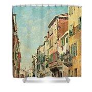 Via San Giorgio Shower Curtain