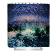 Vibes Of Summer - Series 9 Shower Curtain
