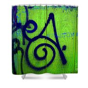 Vibrant City Shower Curtain by Barbara Schultheis