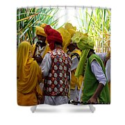 Vibrant Colors Of Punjab Shower Curtain