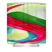 Vibrant Pattern Shower Curtain