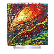 Vibrant Verve Shower Curtain