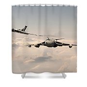 Victor And Vulcan Shower Curtain