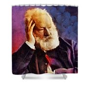 Victor Hugo, Literary Legend Shower Curtain