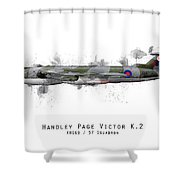 Victor Sketch - Xh669 Shower Curtain