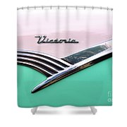 Victoria - 1956 Ford Shower Curtain