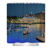 Victoria At Night Shower Curtain
