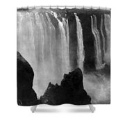Victoria Falls - C 1911 Shower Curtain by International  Images