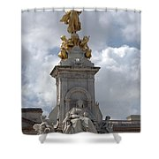 Victoria Memorial Shower Curtain