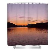 Victoria Sun Set Shower Curtain