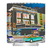 Victoria Theater 125th St Nyc Shower Curtain