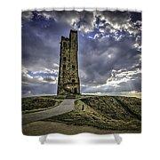 Victoria Tower Castle Hill Huddersfield 2 Shower Curtain