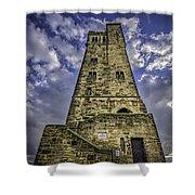 Victoria Tower Castle Hill Huddersfield 4 Shower Curtain