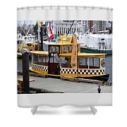 Victoria Water Taxi Shower Curtain