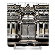Victorian Architecture Details Shower Curtain