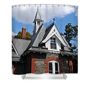 Victorian At The Old Soldiers Home Shower Curtain