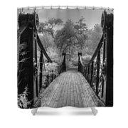 Victorian Bridge Shower Curtain