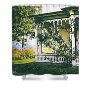 Victorian By The Sea Shower Curtain