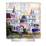 Victorian Cape May New Jersey Shower Curtain