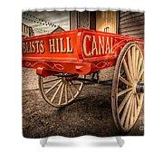 Victorian Cart Shower Curtain by Adrian Evans