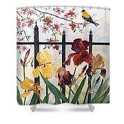 Victorian Garden Shower Curtain by Ben Kiger