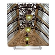 Victorian Lights Shower Curtain