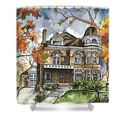 Victorian Mansion Shower Curtain